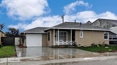 Oxnard Single Family Home Active Under Contract: 434 E Juniper Street