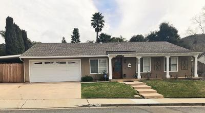 Ventura County Single Family Home For Sale: 640 Barrington Court