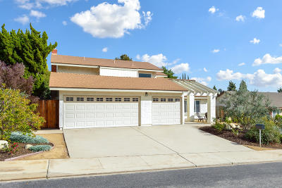 Camarillo Single Family Home Active Under Contract: 2308 Brookhill Drive