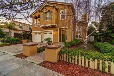 Oxnard Single Family Home For Sale: 4126 Harbour Island Lane