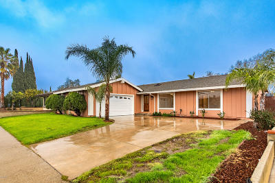 Simi Valley Single Family Home For Sale: 2254 Cochran Street