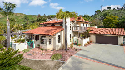 Ventura Single Family Home For Sale: 6016 Bridgeview Drive
