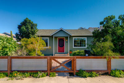 Ventura Single Family Home For Sale: 358 S Santa Cruz Street