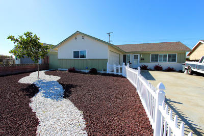 Port Hueneme Single Family Home Active Under Contract: 1735 7th Place