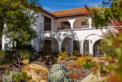 Ojai Single Family Home For Sale: 520 Del Oro Drive