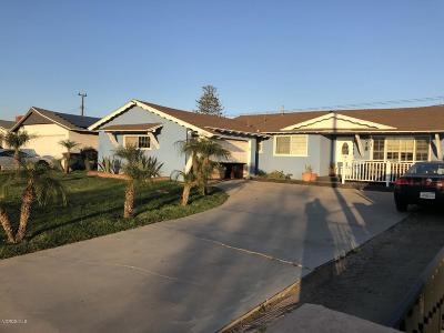 Oxnard Single Family Home For Sale: 4500 S C Street