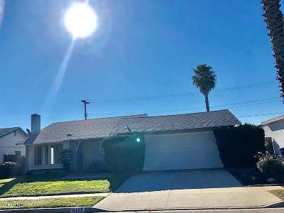 Ventura Single Family Home Active Under Contract: 8252 Shaver Street
