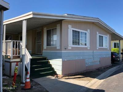 Oxnard Mobile Home For Sale: 115 Yellowstone Drive