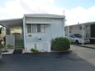 Ventura Mobile Home Active Under Contract: 3900 E Main Street #34