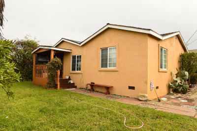 Oxnard Single Family Home For Sale: 2466 Balboa Street