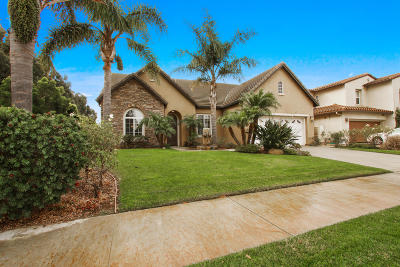 Oxnard Single Family Home For Sale: 3618 Dry Creek Lane