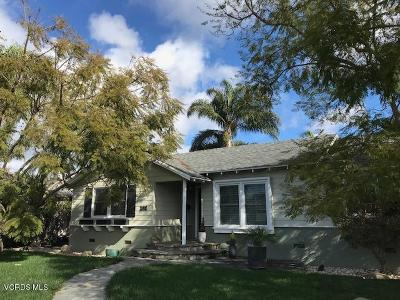 Ventura Single Family Home Active Under Contract: 398 Emma Avenue