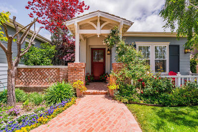 Newbury Park Single Family Home For Sale: 1080 Via San Jose