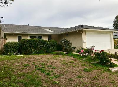 Ventura Single Family Home For Sale: 1286 Rubicon Avenue