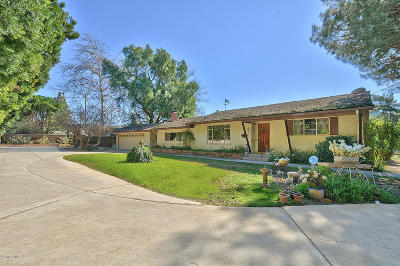 Santa Rosa (ven) Single Family Home For Sale: 2160 Holiday Pines Lane