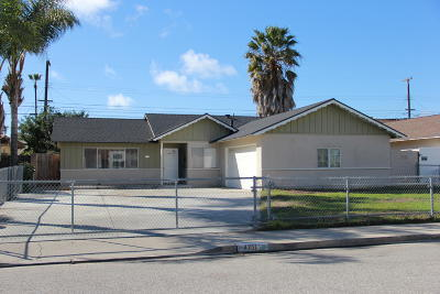 Oxnard Single Family Home For Sale: 4711 S G Street