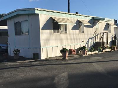 Ventura County Mobile Home Active Under Contract: 3900 E Main Street #19