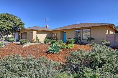 Ventura CA Single Family Home For Sale: $619,000