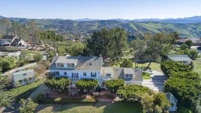 Santa Rosa (ven) Single Family Home For Sale: 12243 Presilla Road