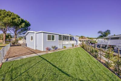 Moorpark Mobile Home Active Under Contract: 15750 Arroyo Drive #191