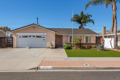 Oxnard Single Family Home For Sale: 2111 Ironbark Drive