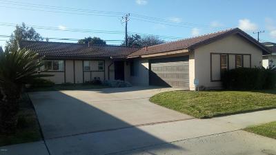 Oxnard Rental For Rent: 4831 Beaumont Avenue