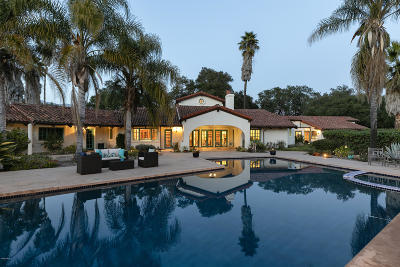 Ojai Single Family Home For Sale: 850 Baldwin Road