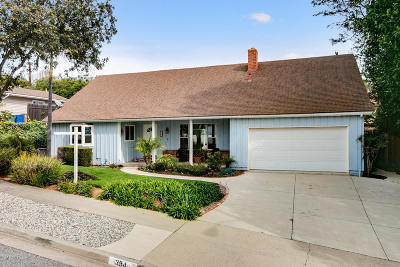 Ventura Single Family Home Active Under Contract: 394 Maryville Avenue