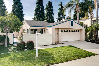 Ventura Single Family Home For Sale: 8036 Crystal Place