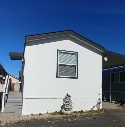 ven Mobile Home For Sale: 4132 Ventura Avenue #22