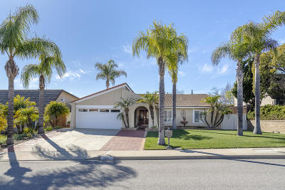 Camarillo Single Family Home Active Under Contract: 2321 Brookhill Drive