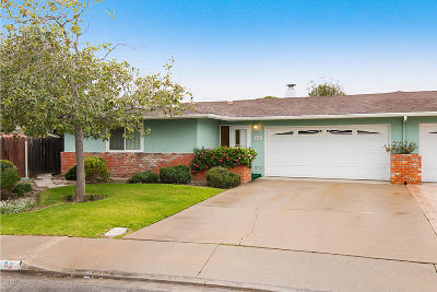 Port Hueneme Single Family Home Active Under Contract: 345 E Elfin Green