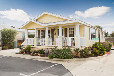 Ojai Mobile Home Active Under Contract: 1885 Maricopa Hwy #13