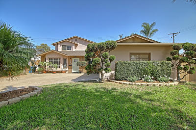 Ventura CA Single Family Home Active Under Contract: $599,000