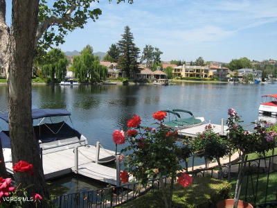 Westlake Village Condo/Townhouse For Sale: 2744 Lakeridge Lane