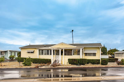 Ventura County Mobile Home Active Under Contract: 4388 Central Avenue #56