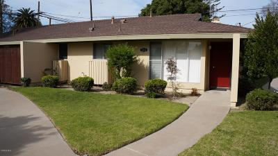 Camarillo Single Family Home Active Under Contract: 2211 Camilar Drive