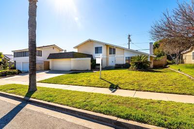 Camarillo Single Family Home For Sale: 2021 Glenbrook Avenue