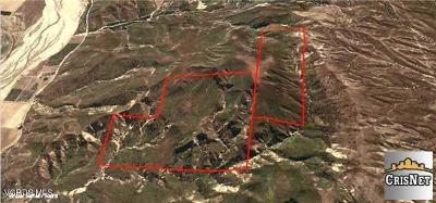 Ventura County Residential Lots & Land For Sale: E Guiberson Road