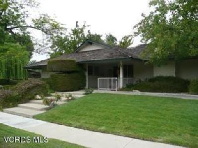 Ventura County Single Family Home For Sale: 85 Westbury Street