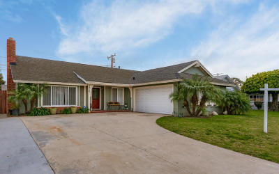 Oxnard Single Family Home For Sale: 1310 Elder Street