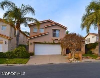 Camarillo Single Family Home Active Under Contract: 491 Calle Mirasol
