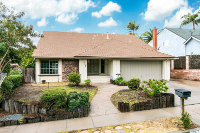 Ventura CA Single Family Home For Sale: $725,000