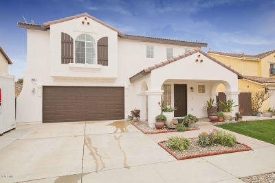 Oxnard Single Family Home For Sale: 956 Paseo Ortega