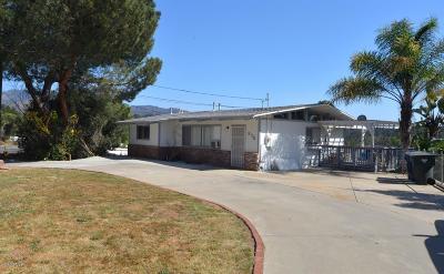 Ojai Single Family Home Active Under Contract: 975 Loma Drive