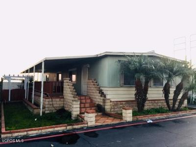 Oxnard Mobile Home Active Under Contract: 1300 E Pleasant Valley Road #57