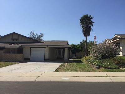 Camarillo Single Family Home Active Under Contract: 5204 Creekside Road