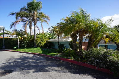 Ventura Single Family Home For Sale: 2174 Sunset Drive