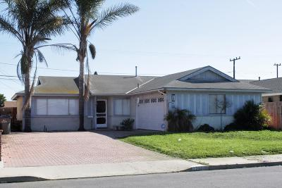 Port Hueneme Single Family Home For Sale: 1766 7th Place