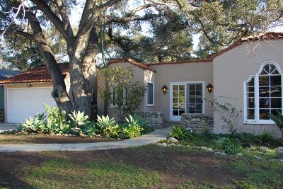 Santa Paula Single Family Home For Sale: 1170 Woodland Drive